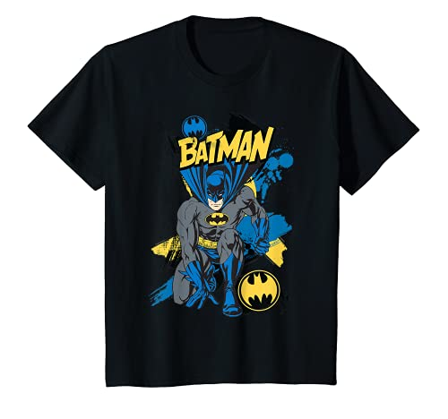 Niños US DC Batman Crouch 01 - Niños Camiseta