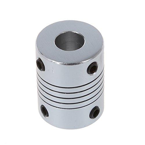 Preisvergleich Produktbild SODIAL(R) Schrittmotor Flexible Wellenkupplung Coupler 6.35x8mm