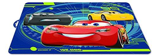 ALMACENESADAN 0423, Disney Car individuelle Tischdecke; Abmessungen 43x29 cm; Kunststoff-Produkt; kostenlos bpa.