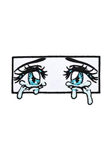 Crying Anime Eyes Patch MULTI One Size