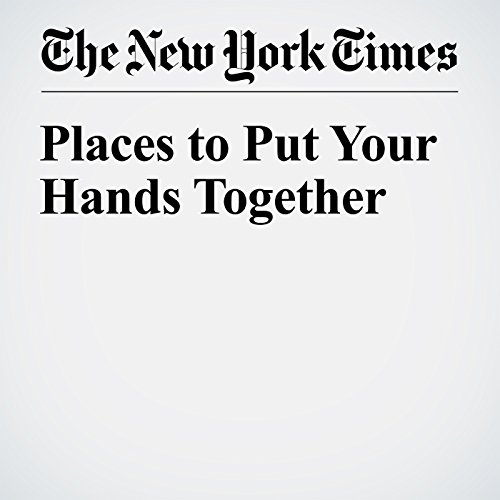 Places to Put Your Hands Together copertina