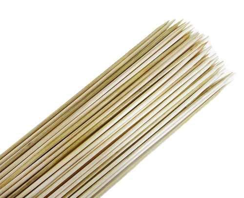 50 Palito De Bambu Espeto Para Churrasco 18cm