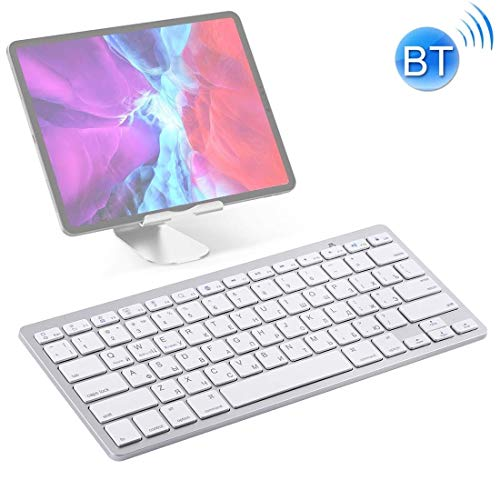 HWJ WB-8022 Ultra-Delgado Teclado inalámbrico Bluetooth for...