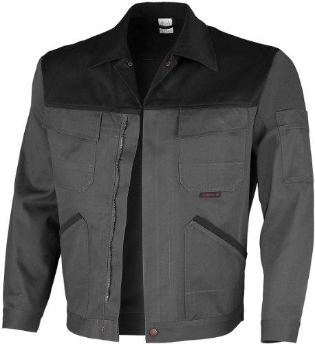 Qualitex Image Bund-Jacke Arbeits-Jacke MG 300 - grau/schwarz - Größe: 64