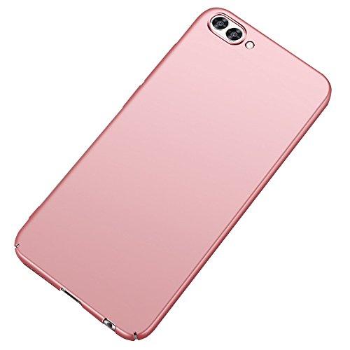 BLUGUL Funda Honor View 10, Ultra Delgado, Revestimiento de Acabado Mate Premium, Ultra Ligero, Dura Cover Case para Huawei Honor View 10 Oro Rosa