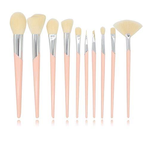 Brosses Pinceaux de maquillage Professional Fondation synthétique Correcteur de poudre Contour Ombres à paupières Mélange Visage Blow Lip Blush Maquil