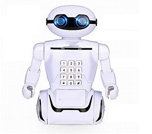 GJRFYJ Caja de Dinero del Banco Robot Lindo hogar Vinilo Hucha for los niños de Escritorio Decoración del Arte