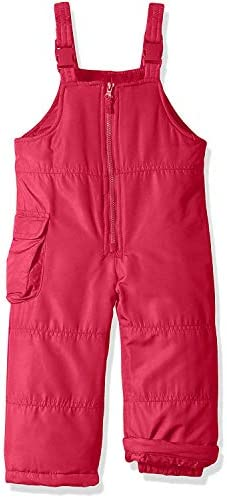 LONDON FOG Girls Little Classic Snow Bib Ski Snowsuit 4T Pink Solid product image