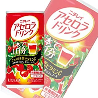 Nichirei acerola drink 190g cans X30 pieces X (2 cases)