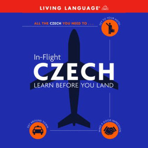 In-Flight Czech audiobook cover art