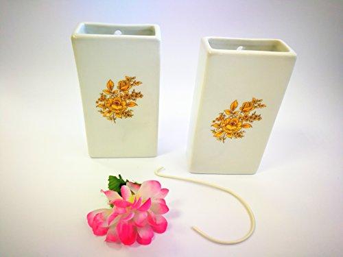 ABC_baño humidificador de Porcelana decoración Flor Oro para radiador de Porcelana