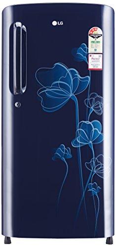 LG 190 L 3 Star (2019) Direct-Cool Single-Door Refrigerator (GL-B201AMHC, Marine Heart)