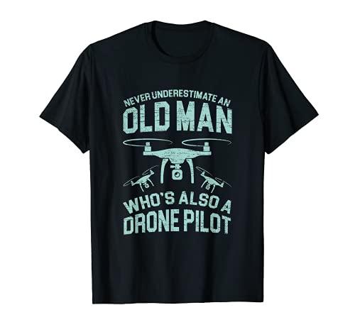 Drone Cámara Drone Accesorios Selfiedrone Quadcopter RC Camiseta