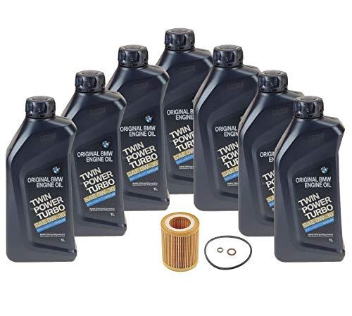 Genuine 0W-30 Twin Power Turbo 7 Liter Oil Change Kit For BMW