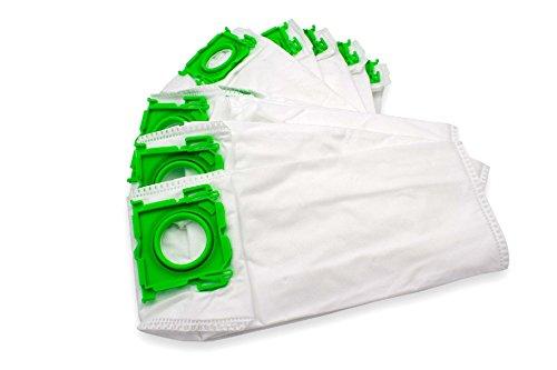 vhbw 10 Beutel Mikrovlies für Staubsauger Saugroboter Mehrzwecksauger Sebo Airbelt K1, K1 ECO 1200, K1 ECO 700, K1 Family, K1 Hunter, K1 Komfort
