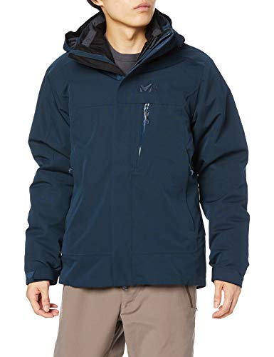 MILLET Pobeda II 3 In 1 Jkt M Jacket, Orion Blue, XXL Mens