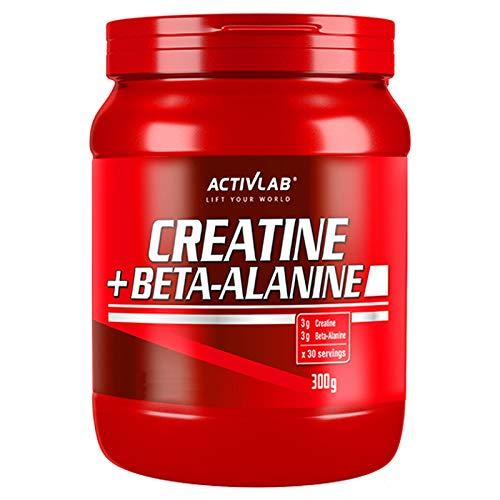 KREATIN + BETA-ALANIN 300g   Monohydrat   Muskelwachstum & Ausdauer   Sportbeilage   Bodybuilding-Pulver