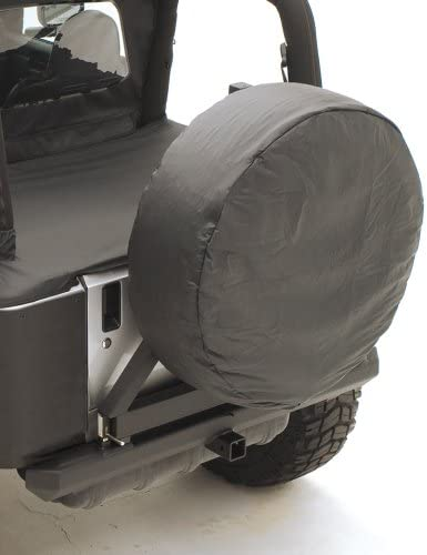 Rugged Ridge 12802.09 Gray Polyester Spare Tire Cover ALL Non-Spec Vehicle ALL