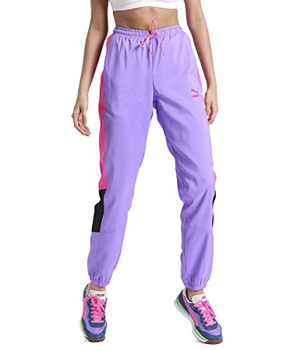 PUMA TFS OG Retro W Pantalón de Deporte Luminous Purple