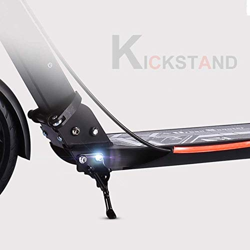 New ZAQ Adult Kick Scooter with Disc Brake, Folding Scooters with Dual Suspension/Big Wheels, for Co...