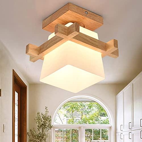 Senfay -  Decke Ganglampe Holz