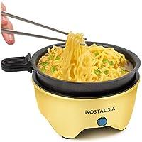 Nostalgia MyMini Personal Electric Skillet & Rapid Noodle Maker