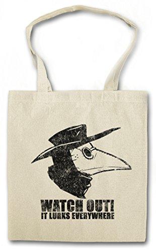 Urban Backwoods Plague Doctor II Hipster Bag Beutel Stofftasche Einkaufstasche