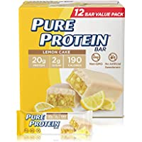12-Count Pure Protein Lemon Cake Pure Protein Bars