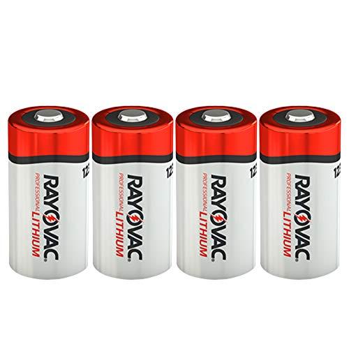 Rayovac RL123A Lithium CR123A 3V Photo Lithium Batteries Bulk - New! (4...