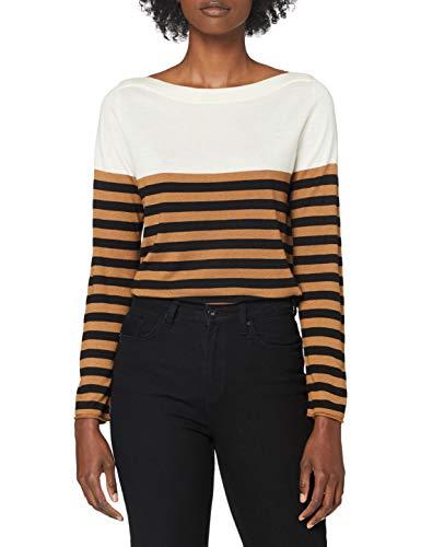 Sisley Sweater L/s Maglione, Multicolor 903, S Donna