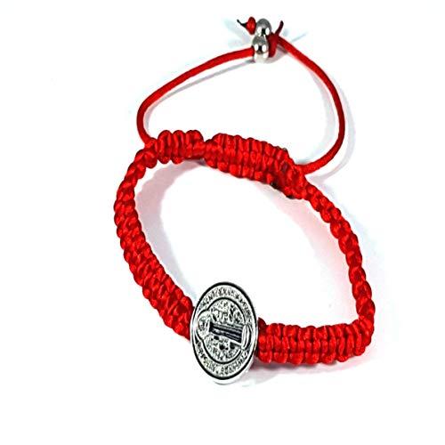 Saint Benedict Red Bracelet