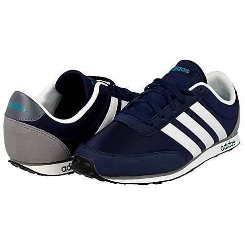 adidas V Racer Schuhe Snekaers Turnschuhe Blau (39 1/3 EU, Blau)