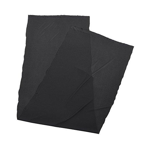 VBESTLIFE Lautsprecher Gille Stereo Grill Fall Mesh Tuch Stoff Tuch Schutz Staubschutz für Audio,1.7 m x 0.5m (Schwarz)