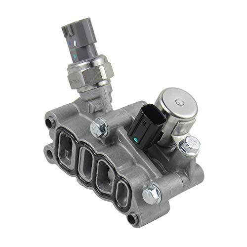 15810-RKB-J01 Vtec Solenoid Spool Valve with Gasket for 2005-2007 Honda Pilot Accord Odyssey 2.4L 3.0L 3.5L 15810RKBJ01