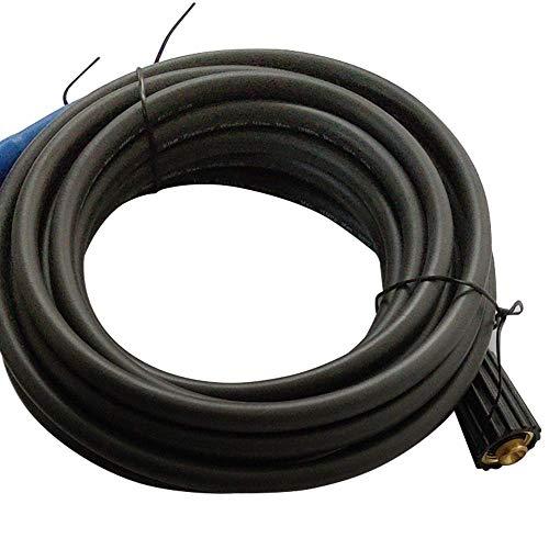 Lavadora de Presión de Manguera 8m Largo M22 Rosca Negro Limpieza ...
