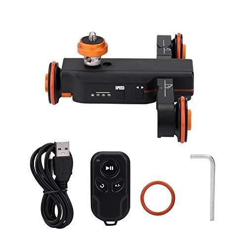 Cámara de Video motorizada L4X/Deslizador eléctrico Dolly Trolley motorizado con Control Remoto...
