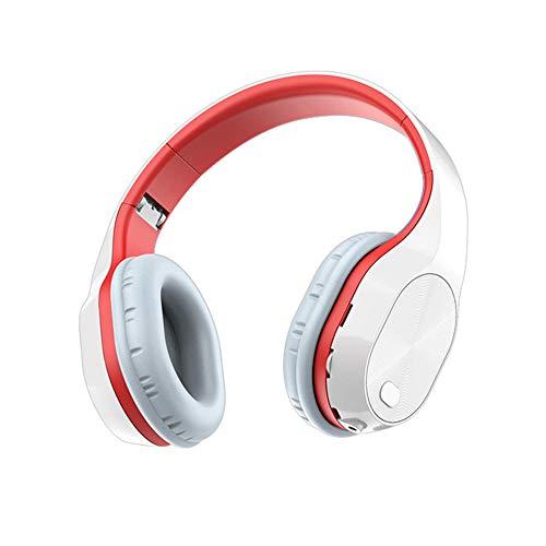 Auriculares Bluetooth, Memoria Suave Proteína Orejeras, Mice Interprado Y Modo Conectro para El Teléfono Grande Auricular para La Biblioteca Hora de Oficina de Tiempo de Viaje de Viaje Etright Etc.