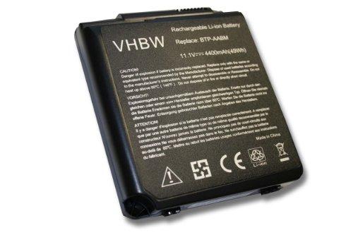 Batterie LI-ION 4400mAh 11.1V pour MEDION MD95453, MD95454, MD96340, MD 95453 95454 96340 remplace WIM2070