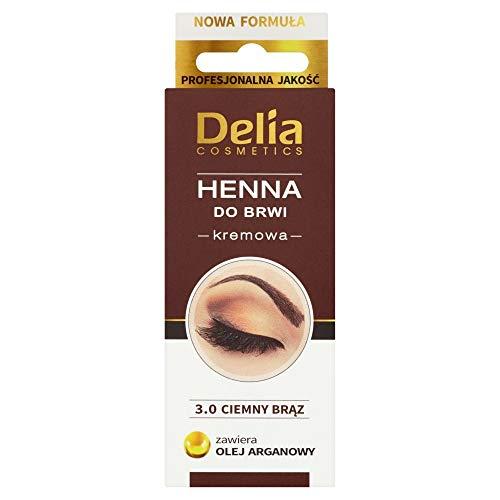 B Farbe Creme für Augenbrauen BRAUN mit Arganöl - Langanhaltende farbe 15ml