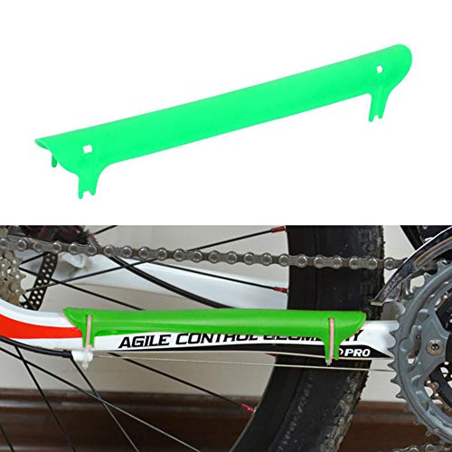 Mantain Bike Chainstay Protector Plastic Bicycle Frame Chain Guard Pad (Green)