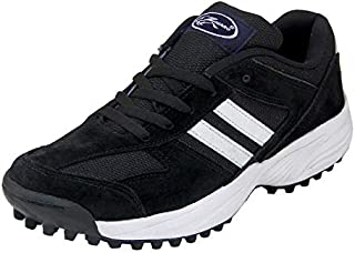 ZIGARO Sabar Black Cricket Shoe