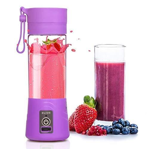 RYNATY Rechargeable Portable Electric Mini USB Multicolor Juicer Bottle Blender- for All Fruit Juice Maker Machine