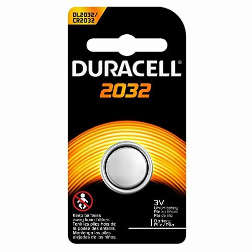 Duracell DL-2032BK1 Long-Life Lithium Button Cell Battery 20 Pack Bundle