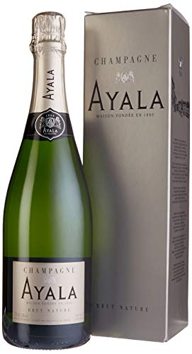 Champagne Ayala Brut Nature in Geschenkverpackung (1 x 0.75 l)