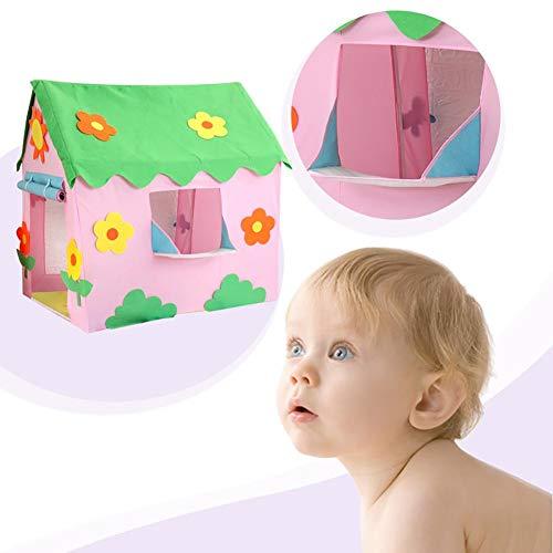 SHOH Kindertent speelhuisje voor binnen en buiten, speeltent voor kinderen ijs en bakkerij