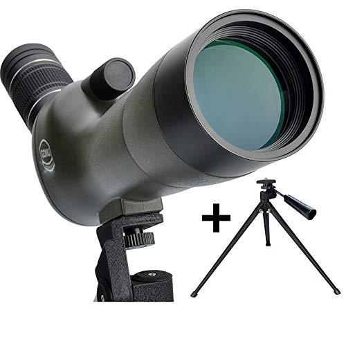 20-60 * 60mm Spotting Scope avec trépied, 45 degrés Grand Angle oculaire, étanche antibuée Spotter Scope pour Cible Oiseaux tir tir à l'arc paysages Sauvages (Taille : #3:#1+SLR Photography kit)