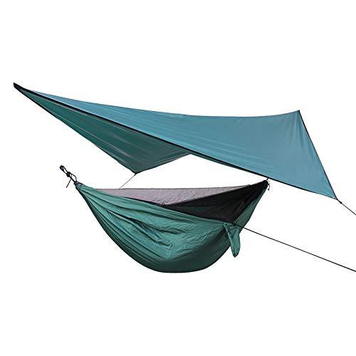 Hamaca para acampar con lluvia mosca resistente a los rayos UV; para acampar al aire libre (tamaño: 360 x 290 cm; color: 03 #)