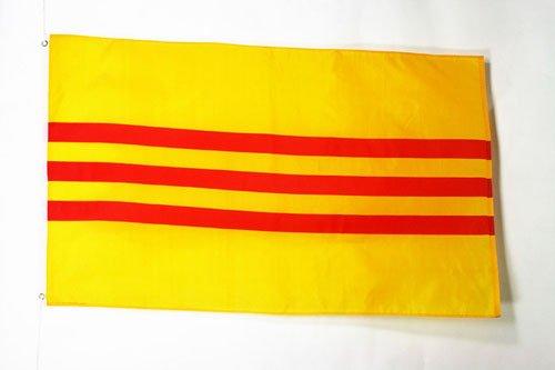 AZ FLAG Flagge SÜDVIETNAM 150x90cm - Staat Vietnam Fahne 90 x 150 cm - flaggen Top Qualität