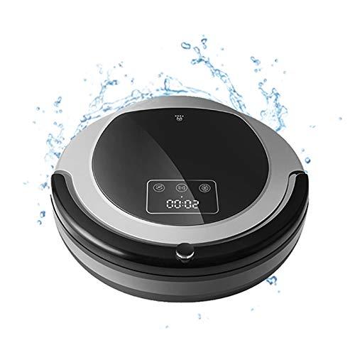 Robot Aspirador, Navegación por Mapas, Memoria Inteligente, Succión 3000Pa, Lámpara UV Doble, Trapeador Seco Húmedo, Aspirador De Aplicación WiFi, Aspirador con Tiras Delimitadoras