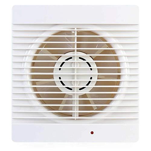 LANDUA Ventilador de conducto en línea Ventilador de Refuerzo Ventilador de plástico Impermeable Tubo de ventilación de Techo Ventilador de baño